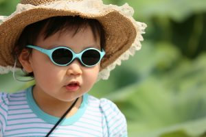 Invisalens - Eye Care tips post image 1 - Protect your child from the harmful UVA and UVB rays of the sun.
