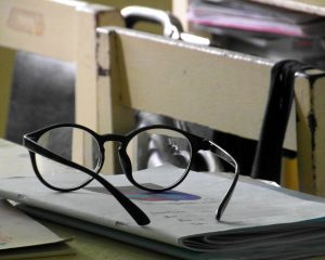glasses-on-a-school-desk